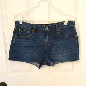 """Gap 1969 3"""" denim cutoff shorts"""